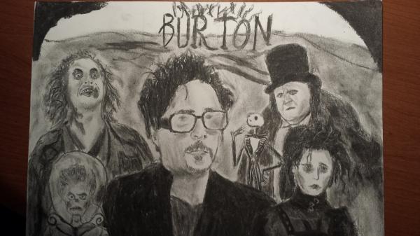 Tim Burton by EmanuelAbate